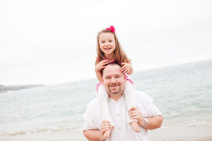 Erik Linstead's Ph.D. and his daughter