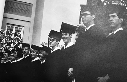 photo of members from the class of 1968