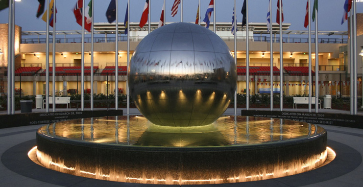 global citizens plaza at chapman university