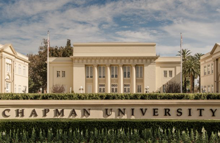 picture of memorial hall at chapman university