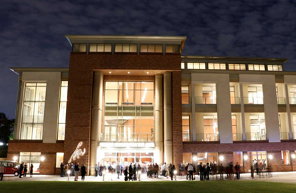 picture of the musco center at chapman university