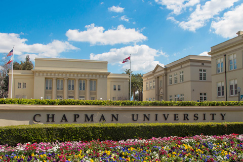 Bert William Mall at Chapman University