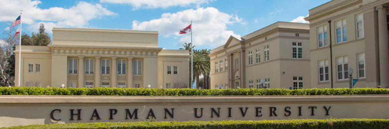 Memorial Hall and historic buildings at Chapman University