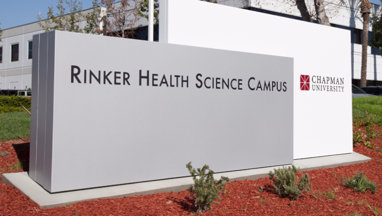 Rinker campus sign