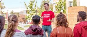 Chapman University campus tour guide