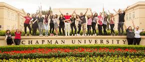 Students at Chapman University