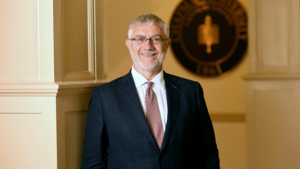 headshot of president daniele struppa