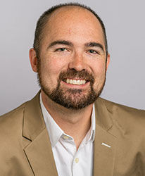 headshot photo of Dr. Keith Hankins