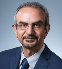 headshot photo of Dr. Reza Mehvar