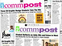 Chapman University Graphic Design Portfolio:  Wilkinson College of Arts Humanities and rh:chapman.edu,Design